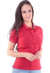 Camisa Polo Cp0719 Regular Traymon Vermelha