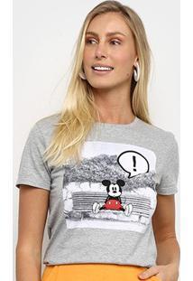 Camiseta Cativa Disney Mickey Feminina - Feminino