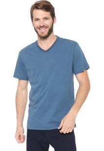 Camiseta Reserva Gola V Azul