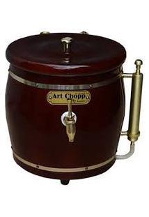 Chopeira Mogno 1 Torneira - Art Chopp