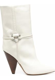 Isabel Marant Ankle Boot Lilet - Branco