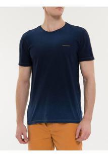 Camiseta Ckj Mc Est Logo Peito - Indigo - Pp