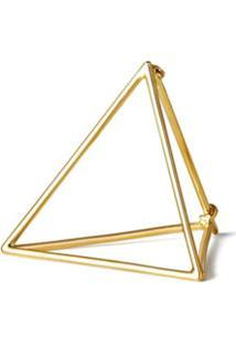 Shihara Par De Brincos 'Triangle 25' - Metálico