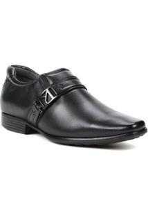 Sapato Social Masculino Pegada Preto