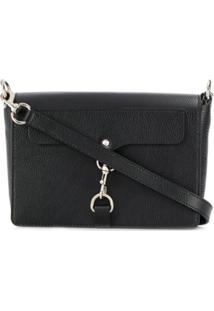Rebecca Minkoff Mab Crossbody Pebble Bag - Preto