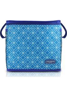 Bolsa Térmica Tamanho Grande Jacki Design Fresh Azul - Kanui