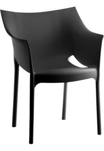 Cadeira De Jantar Taís Preta
