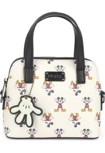 Mini Bolsa Luxcel Mickey Branca
