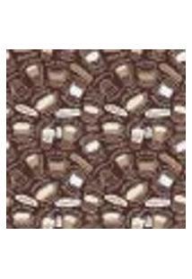 Papel De Parede Autocolante Rolo 0,58 X 3M - Café 282077102