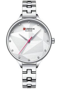 Relógio Curren Analógico C9047L Prata - Tricae