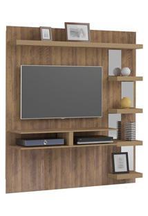 Painel Para Tv Com Bancada Premium Pinho - Artely