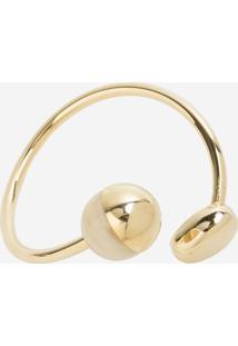 Bracelete Le Lis Blanc Bianca Dourado Feminino - Bracelete Julia-Dourado-Un