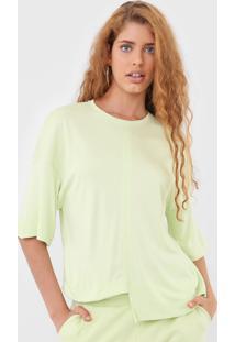 Blusa Hering Assimétrica Verde - Kanui