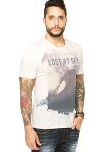 Camiseta Triton Sea Off-White