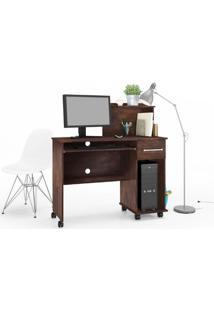 Mesa Computador Studio Noce - Lukaliam