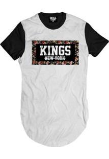 Camiseta Longline Kings New York Masculina - Masculino