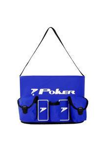 Balde De Massagista Poker Maracanã Azul