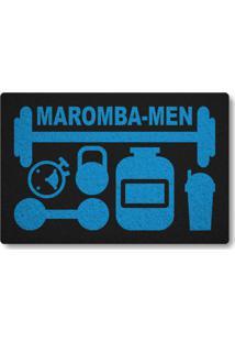 Tapete Capacho Maromba-Men - Preto
