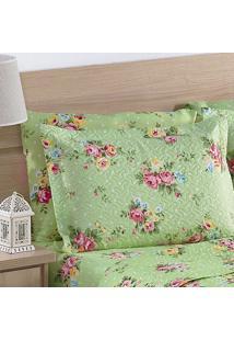 Porta Travesseiro Petit Floral