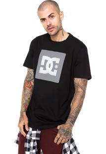 Camiseta Dc Shoes Storm Box Preta