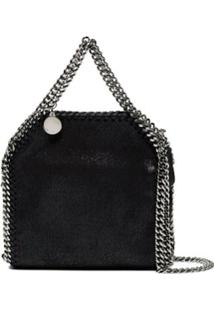 Stella Mccartney Bolsa Tiracolo Falabella Super Mini - Preto