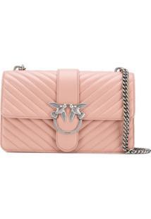 Pinko Love Crossbody Bag - Rosa