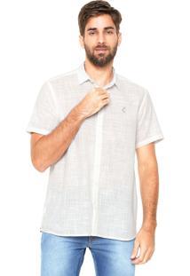 Camisa Coca-Cola Jeans Reta Off White