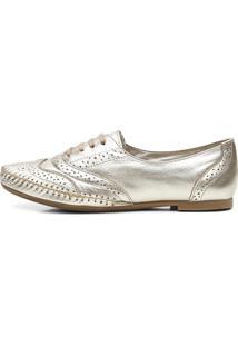Sapato Oxford Mocassim Casual - Prata