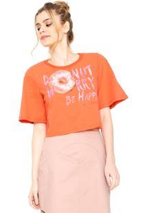Camiseta Sommer Slim Laranja