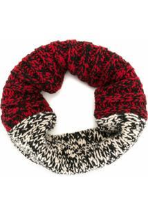 Colville Cachecol De Tricô E Lã - Vermelho