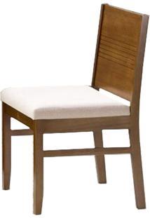 Cadeira Com Encosto Laminado 5203-Monte Carlo - Pinhao