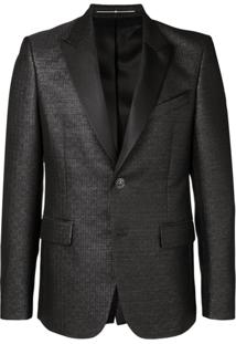 Givenchy 4G Pattern Suit Jacket - Preto