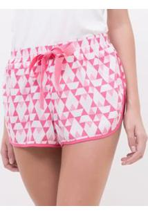 Short De Pijama Estampado
