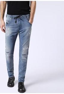 Calça Diesel Krooley Masculina - Masculino-Jeans