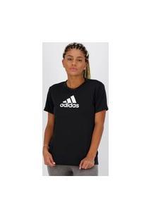 Camiseta Adidas Logo Feminina Preta