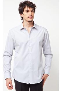 Camisa Calvin Klein White Label Bordada Branca