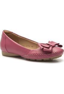 Sapato Feminino 2778 Em Couro Gerânio Doctor Shoes - Feminino-Pink
