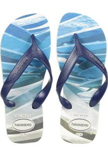Chinelo Masculino Havaianas Surf - Masculino-Azul