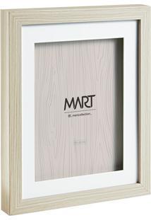 Porta Retrato- Bege & Branco- Tamanho Da Foto: 15X20Mart