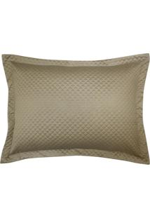 Porta Travesseiro Micromatelasse Nobreza Ouro - Tricae