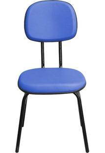 Cadeira Pethiflex Csf02 7/8 Couro Azul