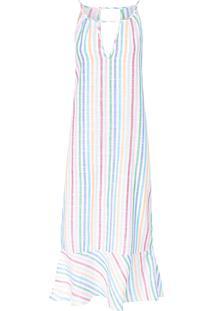 Vestido Feminino Listras Coloridas