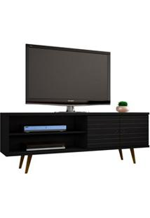 Rack Para Tv Até 60 Pol. 160 Cm Onix Preto - Bechara