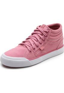 Tênis Dc Shoes Evan Hi Tx Imp Rosa