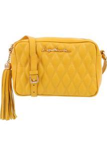 Bolsa Em Matelassê Amarelo