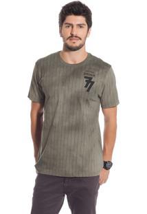 Camisa Manga Curta Bgo Bgm32801-36117 Marrom