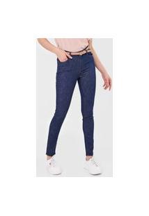 Calça Jeans Dudalina Skinny Demi Azul-Marinho