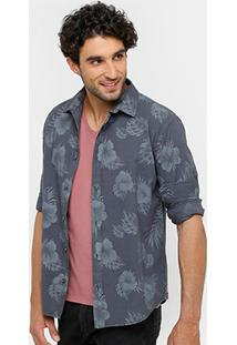 Camisa Triton Estampada Masculina - Masculino