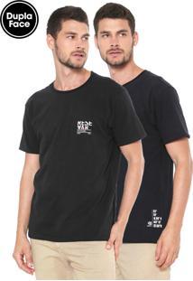 Camiseta Reserva Dupla Face Preta
