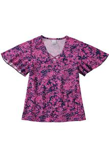 Blusa Floral Malwee